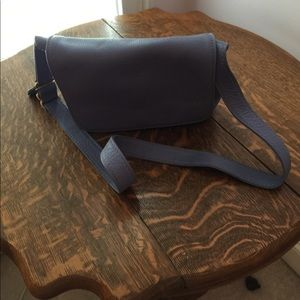 Periwinkle leather purse